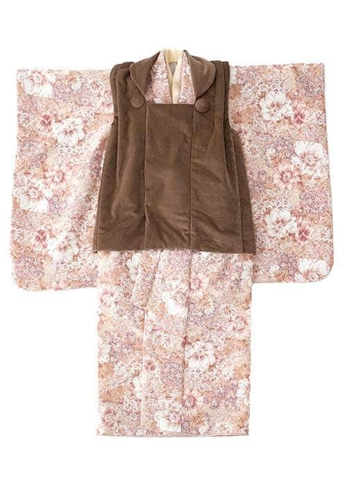 七五三3歳女の子着物R-303