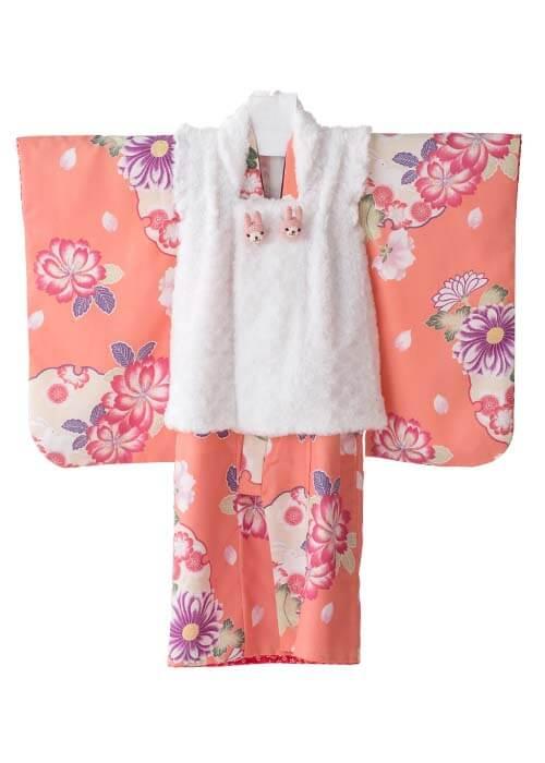 七五三3歳女の子着物R-308
