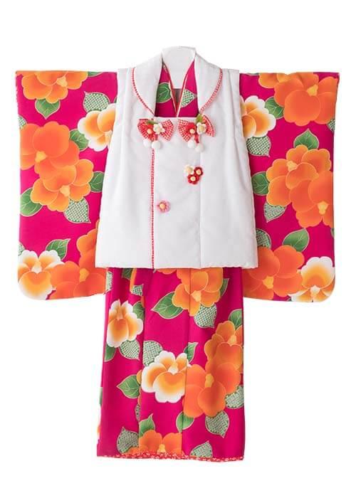 七五三3歳女の子着物R-310