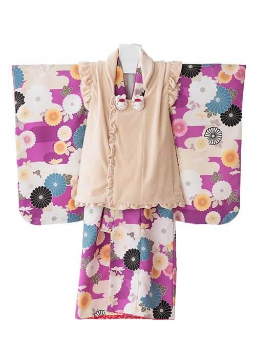 七五三3歳女の子着物R-314