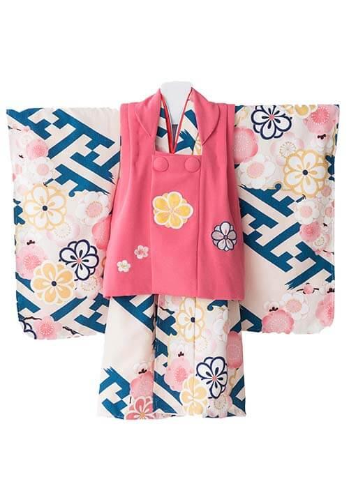 七五三3歳女の子着物R-322